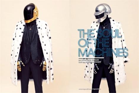 Daft Punk by Pierpaolo Ferrari for L'Uomo Vogue