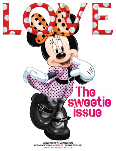 Minnie Mouse Love Magazine