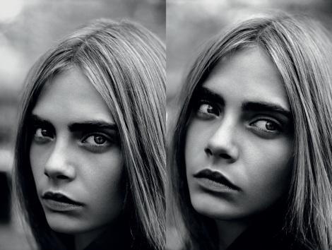 Cara Delevingne by Alasdair McLellan