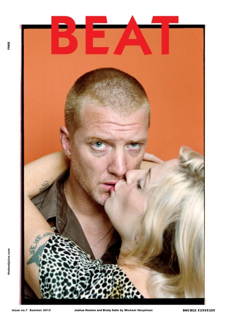 Josh Homme and Brody Dalle Cover Beat Magazine No.7