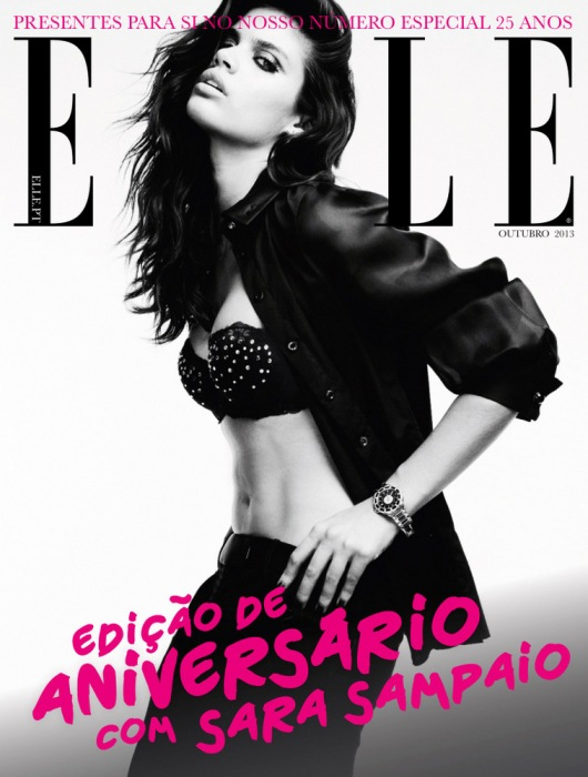 Sara+Sampaio+for+Elle+Portugal+October+2013