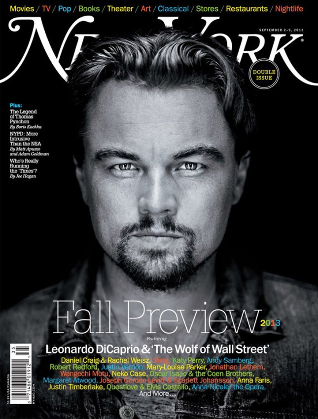 Leonardo+DiCaprio+New+York+Magazine+2013+Cover