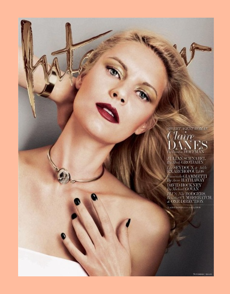 Claire Danes for Interview Magazine November 2013
